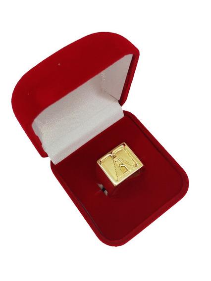 Anel Masculino Nossa Senhora Ouro 18kl/750
