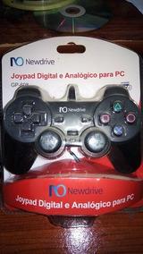 Joypad Digital E Analogico Para Pc Gp-608