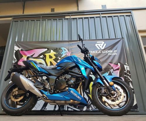 Suzuki 750 Gsx Abs Naked 0km 2019 Japon 100% Azul + Blanca