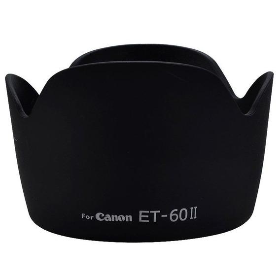 Parasol Et-60 Ii Para Canon Ef 75-300mm F/4-5.6 Ii 55-250mm