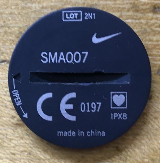 Tampa Da Pilha Nike Sma007 Ipx8 Heart Monitor