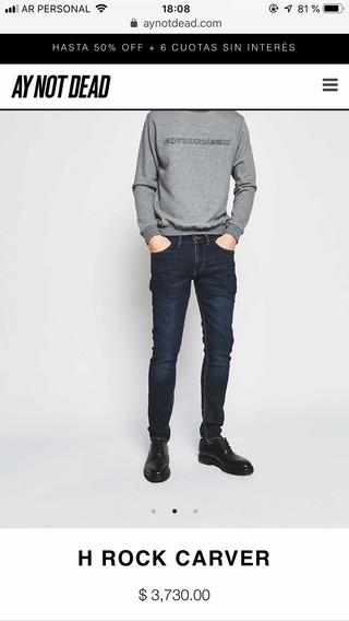 Jeans Ay Not Dead. No Bensimon Gola Burgués.