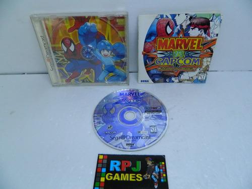 Imagem 1 de 7 de Marvel Vs Capcom 1 Original Completa P/ Dreamcast - Loja Rj