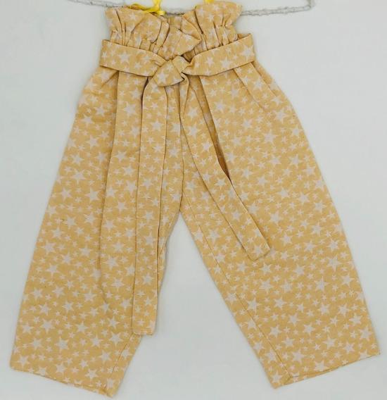My Bella Moon, Pantalón Estampado Amarillo