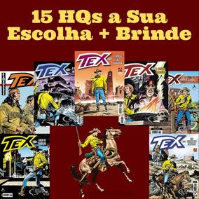 Kit15 Hqs Tex Mensal, Coleção Ou Almanaque A Escolher