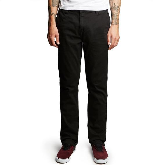 Pantalon Gabardina Altamont A-969 Chino Black