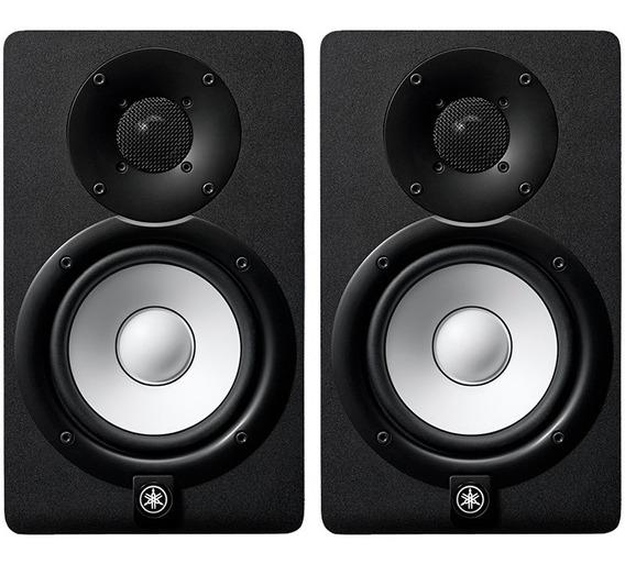 Monitor De Referência Ativo Yamaha Hs5 Preto 140w 110v