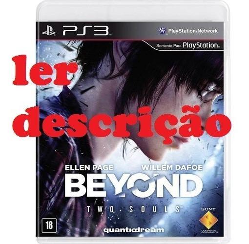 Beyond Dublado Ps3, Via Pen Drive, Ler Descrição