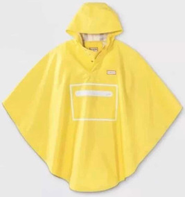 Poncho Hunter For Target, Empacable Amarillo Xs/s