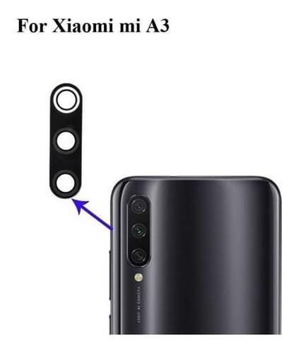Imagen 1 de 1 de Lente De Cámara Xiaomi Mi A3 Original Somos Tienda Física