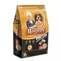 Ração Magnus Premium Carne Todo Dia 15kg +brinde
