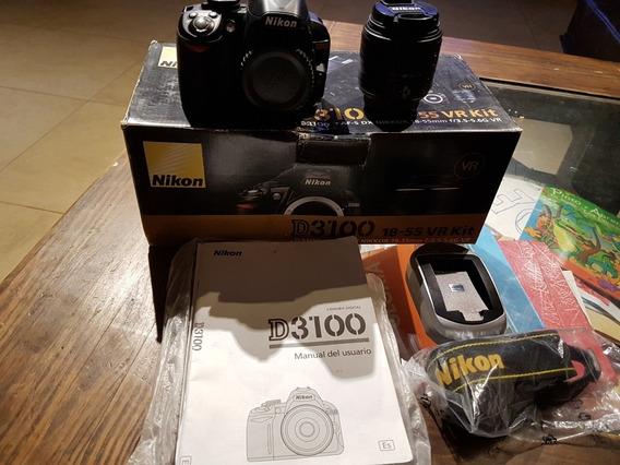 Nikon D3100 Lente 18-55