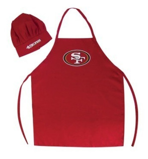 Delantal Y Gorro Chef San Francisco 49ers