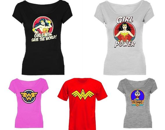 Remeras Wonder Woman Maravilla Mujer *mr Korneforos*