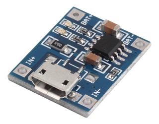 Cargador De Baterías Litio Tp4056 Micro Usb 18650 1a Ubot