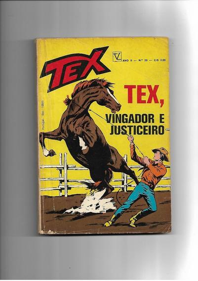 Tex N. 23 - Tex Vingador E Justiceiro - 1a.edição - Vecchi -
