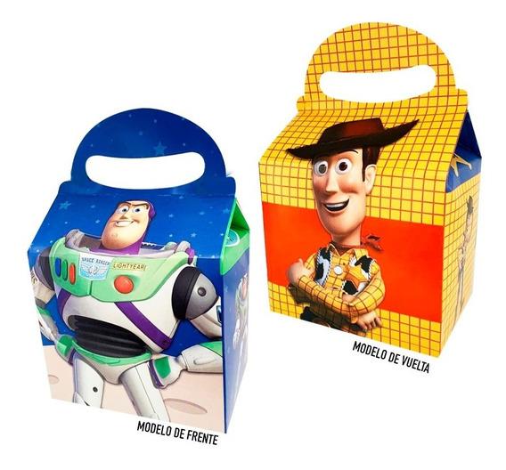 Woody Y Buzz Caja Dulcera 10 Pzs Dulcero Fiesta Toy Story 4