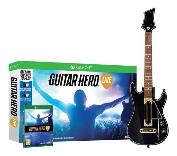 Guitar Hero Live Bundle Com Guitarra - Xbox One