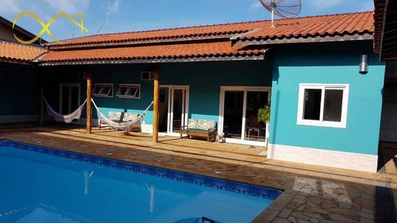 Chácara Com 3 Dormitórios À Venda, 1000 M² Por R$ 1.200.000,00 - Patropi - Paulínia/sp - Ch0092