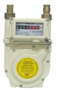 Medidor Gas 3kg Aluminio 3m3/hr Blanco Kg-3 Cms