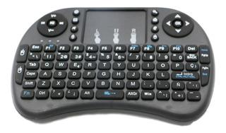 Mini Teclado Inalambrico Touchpad Smart Tv Box