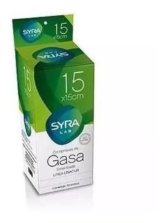Gasa Esteril Syra (x100u - X80u - X70u) 10x10 15x15 20x20