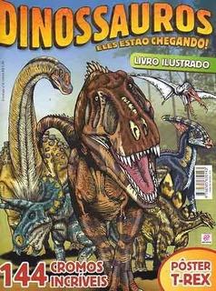 Album Dinossauros Eles Estão Chegando Vazio, Sem O Poster
