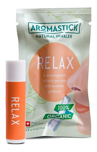 Aromastick - Inalador Nasal - Aromaterapia - Relax