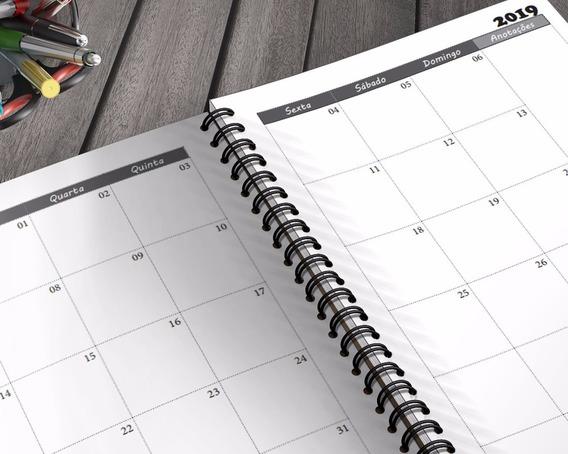 Agenda 2 Dias Por Pagina 2019 Para Imprimir Pdf