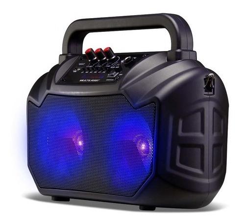Caixa De Som Amplificada Multilaser Sp289 80w, Bluetooth