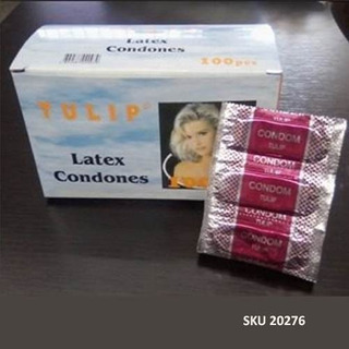 Preservativo Tulip Caja 300 Unidades Condones W11