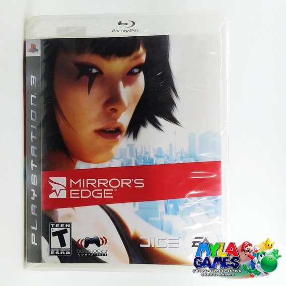 Mirrors Edge Ps3 Midia Fisica *usado***com Manual**