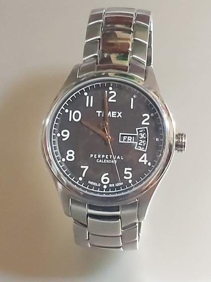 Reloj Para Caballero Timex Perpetual Calendar