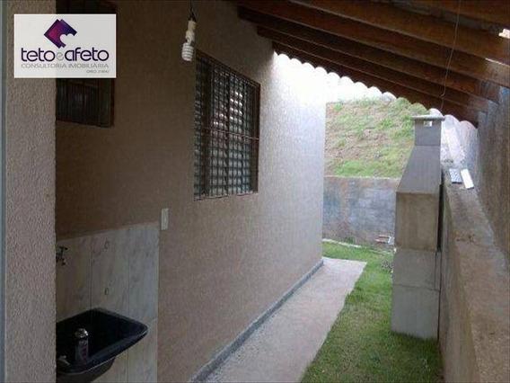 Casa Residencial À Venda, Condomínio Fechado, Atibaia - Ca2591. - Ca2591