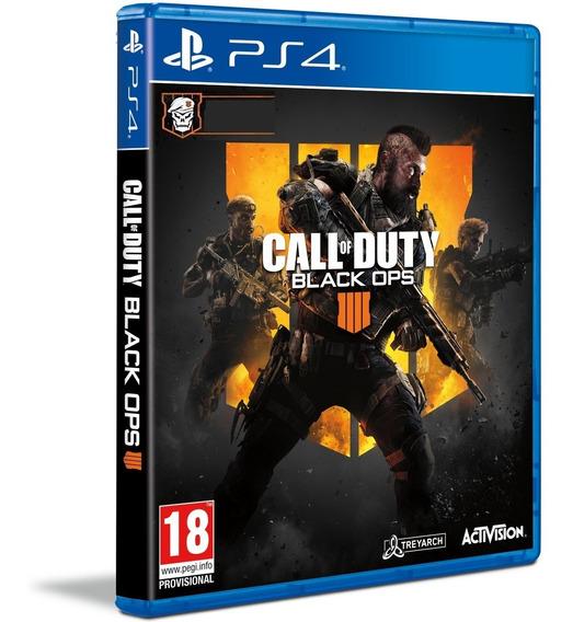 Call Of Duty Black Ops 4 Ps4 Midia Fisica Cd Original Barato