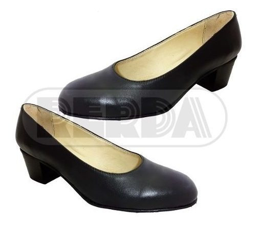 Zapato Dama De Cuero