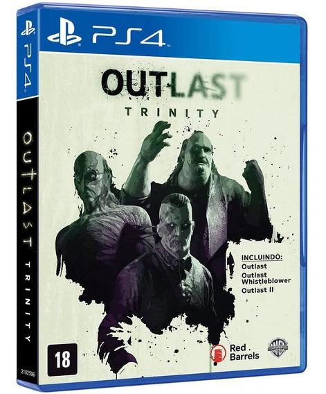 Outlast Trinity Playstation 4 Original Usado