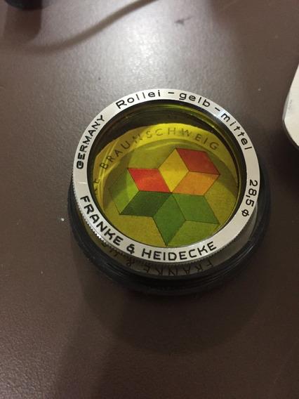 Filtro Rollei - Gelb - Mittel 28,5mm F:3.5 Amarelo Medio