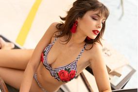 Triangulo Loviu Gina Cuadrille Corpiño Bikinis qSUGpLzMV