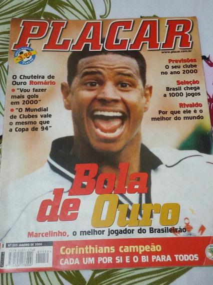 Placar Ed 1159 Janeiro De 2000 Bola De Ouro Do Brasileirão
