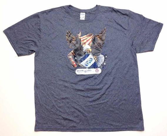 Remera Gildan Deportiva Americana Usa Aguila Dax Talle Xl