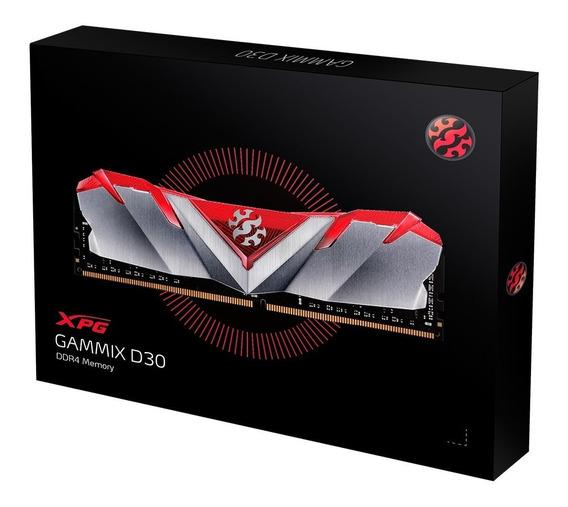 Memoria Adata Xpg Gammix D30 8gb Ddr4 3000mhz Red