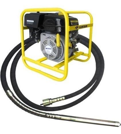 Vibrador De Concreto A Gasolina 5.5hp Chicote 4m Ecomaqmx