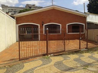 Casa Residencial Em Campinas - Sp, Vila Lemos - Ca00106