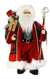 Muñeco Santa Claus Decoracion Navideña 45 Cm Envio Gratis