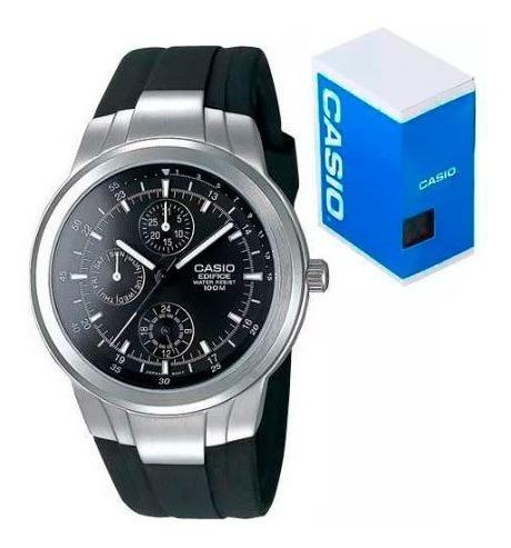 Reloj Casio Edifice Ef305 1a Triple Fechador Envio Gratis