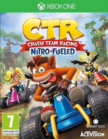 Game Crash Team Racing Nitro Fueled - Xbox One