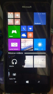 Windows Phone Lumia 535 8.1 Touch Falhando E Trincado