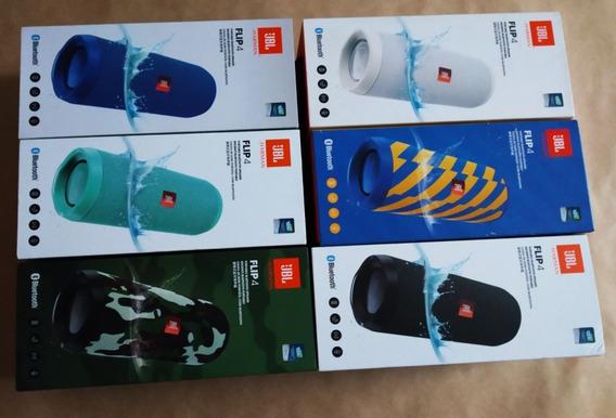 Jbl Flip 4 Speaker Caixa Portatil De Som Bluetooth Original