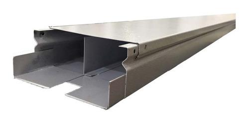 Canaleta Metalica Con Division 8x4x240